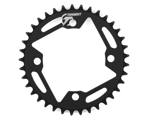 Tangent Halo 4-Bolt Chainring (Black) (37T)