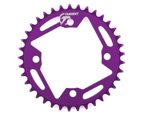 Tangent Halo 4-Bolt Chainring (Purple) (37T)