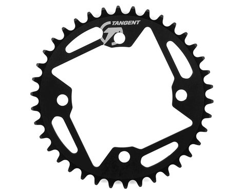 Tangent Halo 4-Bolt Chainring (Black) (38T)