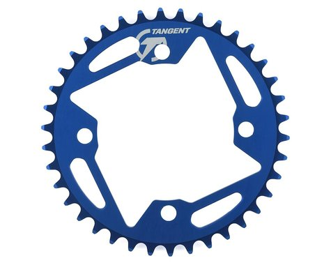 Tangent Halo 4-Bolt Chainring (Blue) (38T)