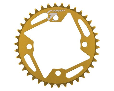 Tangent Halo 4-Bolt Chainring (Gold) (38T)
