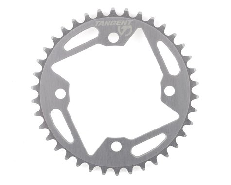 Tangent Halo 4-Bolt Chainring (Gun Metal) (38T)