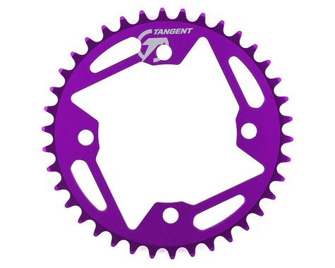 Tangent Halo 4-Bolt Chainring (Purple) (38T)