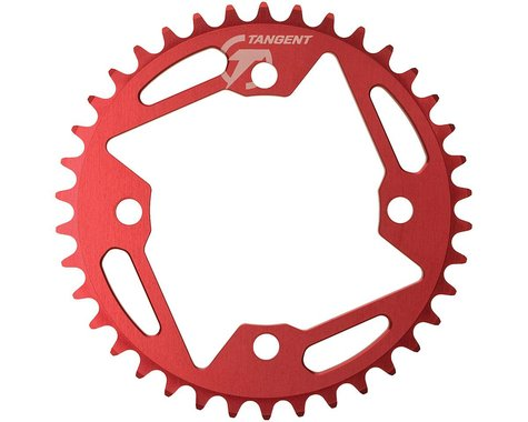 Tangent Halo 4-Bolt Chainring (Red) (38T)