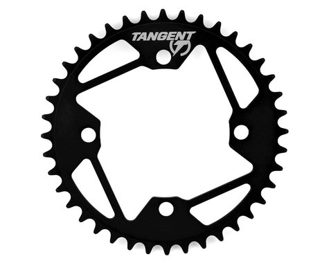 Tangent Halo 4-Bolt Chainring (Black) (40T)