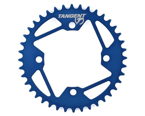 Tangent Halo 4-Bolt Chainring (Blue) (40T)