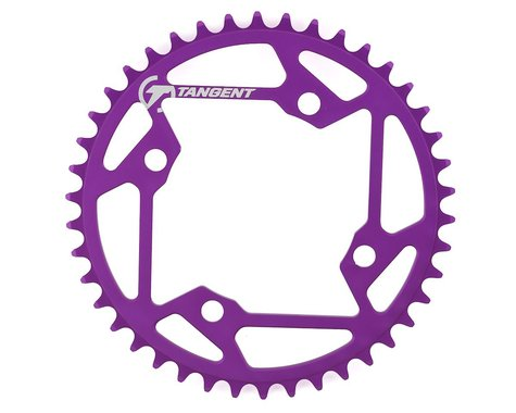 Tangent Halo 4-Bolt Chainring (Purple) (42T)