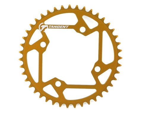 Tangent Halo 4-Bolt Chainring (Gold) (43T)