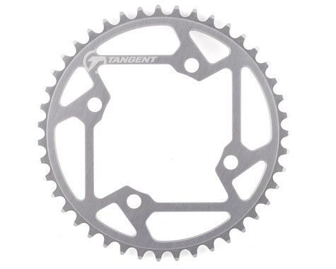 Tangent Halo 4-Bolt Chainring (Gun Metal) (43T)