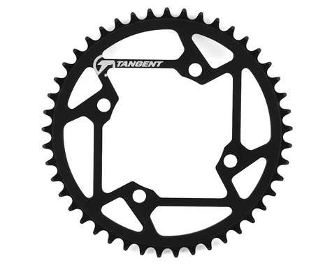 Tangent Halo 4-Bolt Chainring (Black) (45T)
