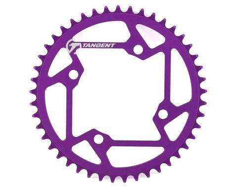 Tangent Halo 4-Bolt Chainring (Purple) (45T)