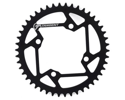 Tangent Halo 4-Bolt Chainring (Black) (46T)