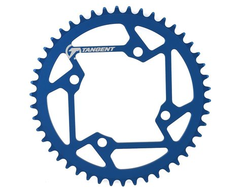 Tangent Halo 4-Bolt Chainring (Blue) (46T)
