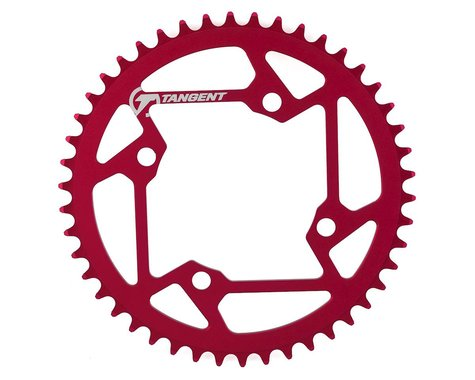 Tangent Halo 4-Bolt Chainring (Red) (46T)