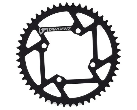 Tangent Halo 4-Bolt Chainring (Black) (50T)