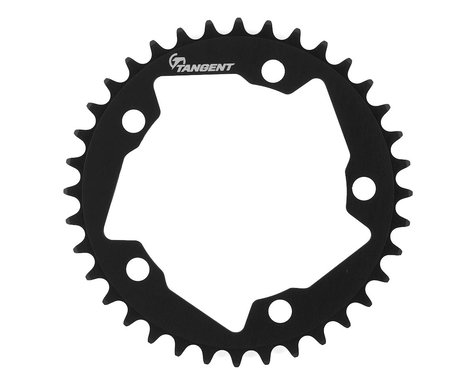 Tangent Halo 5-Bolt Chainring (Black)
