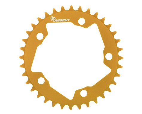 Tangent Halo 5-Bolt Chainring (Gold) (36T)