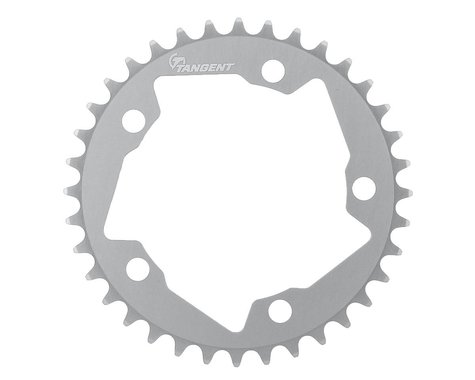 Tangent Halo 5-Bolt Chainring (Gun Metal) (36T)