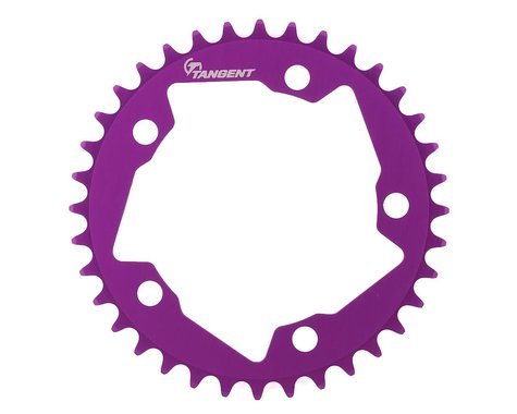Tangent Halo 5-Bolt Chainring (Purple) (36T)