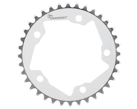 Tangent Halo 5-Bolt Chainring (White)