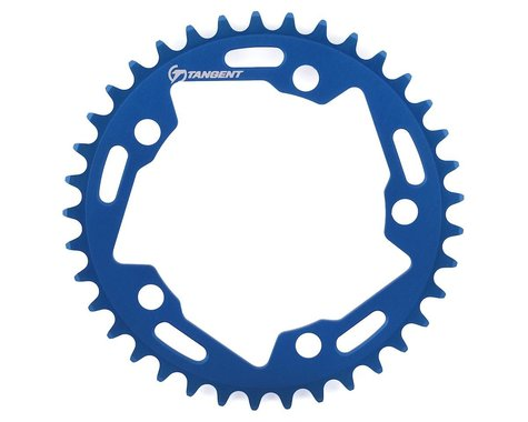 Tangent Halo 5-Bolt Chainring (Blue) (37T)
