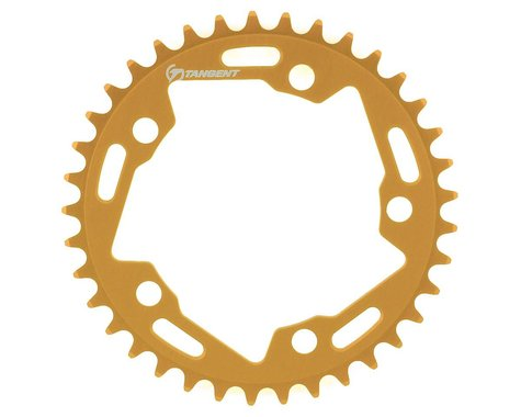 Tangent Halo 5-Bolt Chainring (Gold) (37T)