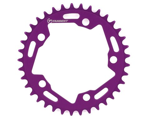 Tangent Halo 5-Bolt Chainring (Purple) (37T)