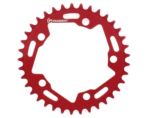 Tangent Halo 5-Bolt Chainring (Red) (37T)