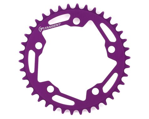 Tangent Halo 5-Bolt Chainring (Purple) (38T)
