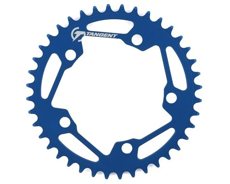 Tangent Halo 5-Bolt Chainring (Blue) (40T)