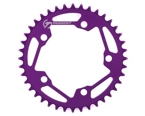 Tangent Halo 5-Bolt Chainring (Purple) (40T)