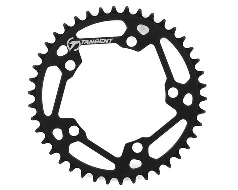 Tangent Halo 5-Bolt Chainring (Black) (42T)