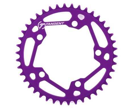 Tangent Halo 5-Bolt Chainring (Purple) (42T)
