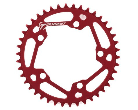 Tangent Halo 5-Bolt Chainring (Red) (42T)