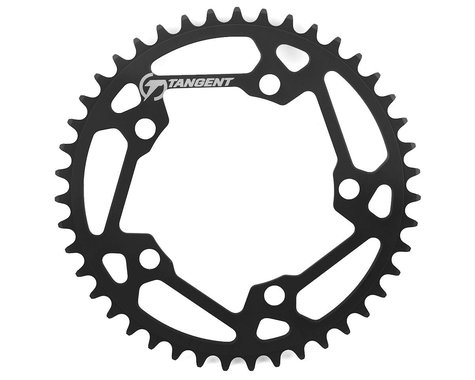 Tangent Halo 5-Bolt Chainring (Black) (43T)
