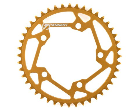 Tangent Halo 5-Bolt Chainring (Gold) (44T)