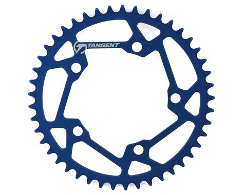 Tangent Halo 5-Bolt Chainring (Blue) (45T)
