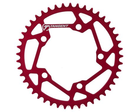 Tangent Halo 5-Bolt Chainring (Red) (45T)