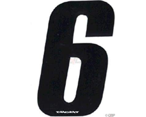 "Tangent 3"" BMX Number Pack ""6"" (10-Pack)"