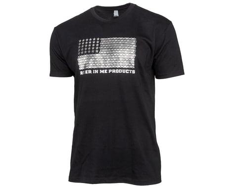 Tangent USA Flag T-Shirt (Black) (L)