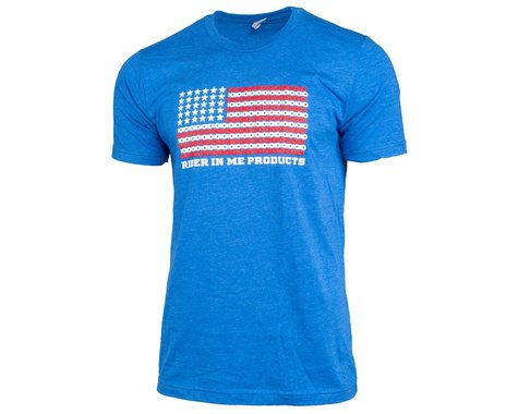 Tangent USA Flag T-Shirt (Blue) (XL)
