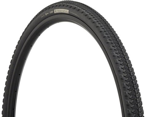 Teravail Cannonball Gravel Tire (Black) (Durable/TR) (700 x 42)