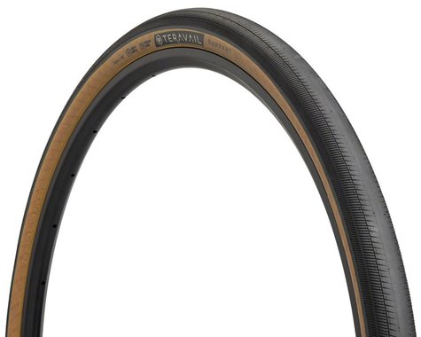 Teravail Rampart Tubeless Tire (Black/Tan) (700c) (42mm)
