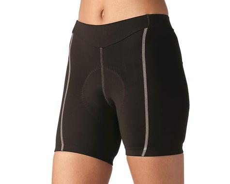 Terry Women's Bella Short (Black/Grey) (Short Inseam) (L)