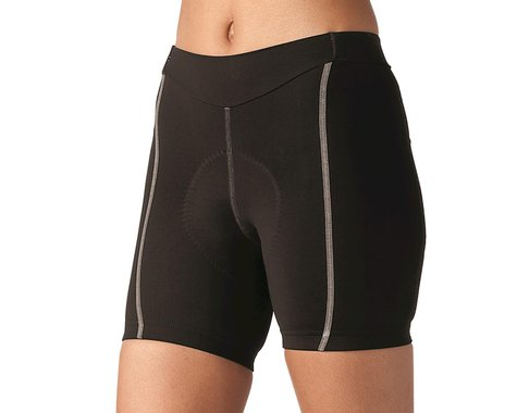 Terry Women's Bella Short (Black/Grey) (Short Inseam) (XL)