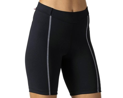 Terry Women's Bella Short (Black/Grey) (Regular Inseam) (S)