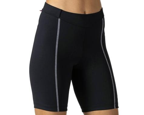 Terry Women's Bella Short (Black/Grey) (Regular Inseam) (M)