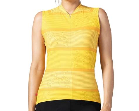 Terry Women's Soleil Sleeveless Jersey (Zoom/Litup) (XL)