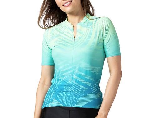 Terry Women's Soleil Short Sleeve Jersey (Wavelength/Blue) (XL)