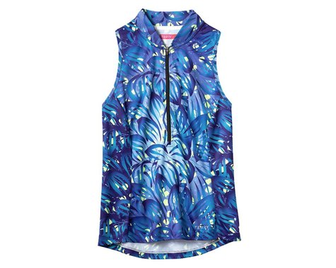 Terry Women's Sun Goddess Sleeveless Jersey (Florescence/Midnight) (S)